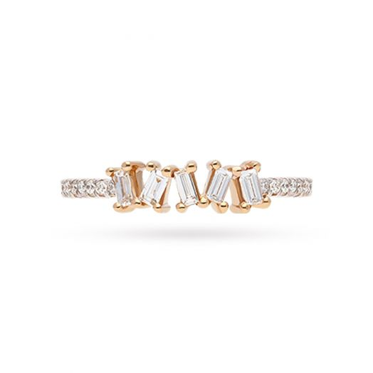 The Aster Diamond Ring